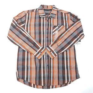 Sean John Long Sleeve Button Up Shirt  Mens Size L